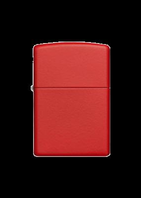 Red Matte - Zippo Lighter