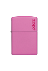 Classic Pink Matte With Logo - Zippo Lighter