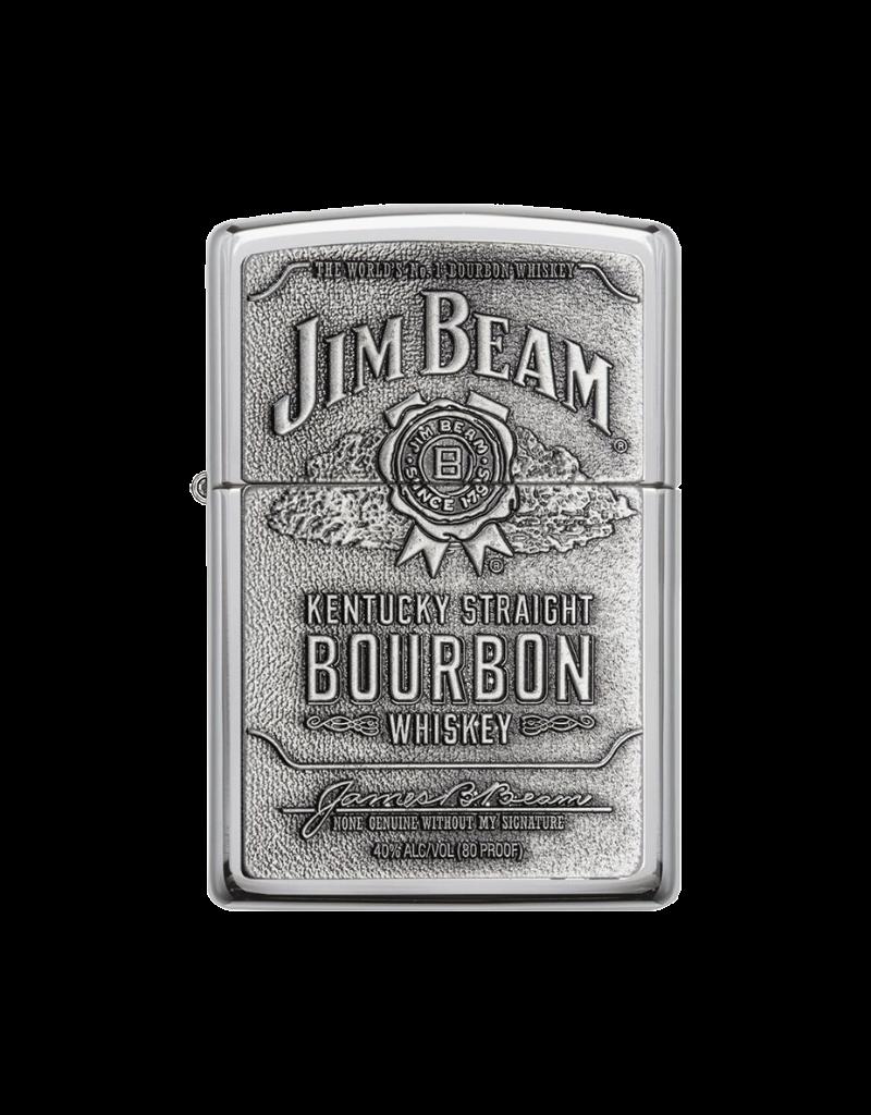 Jim Beam Pewter - Zippo Lighter