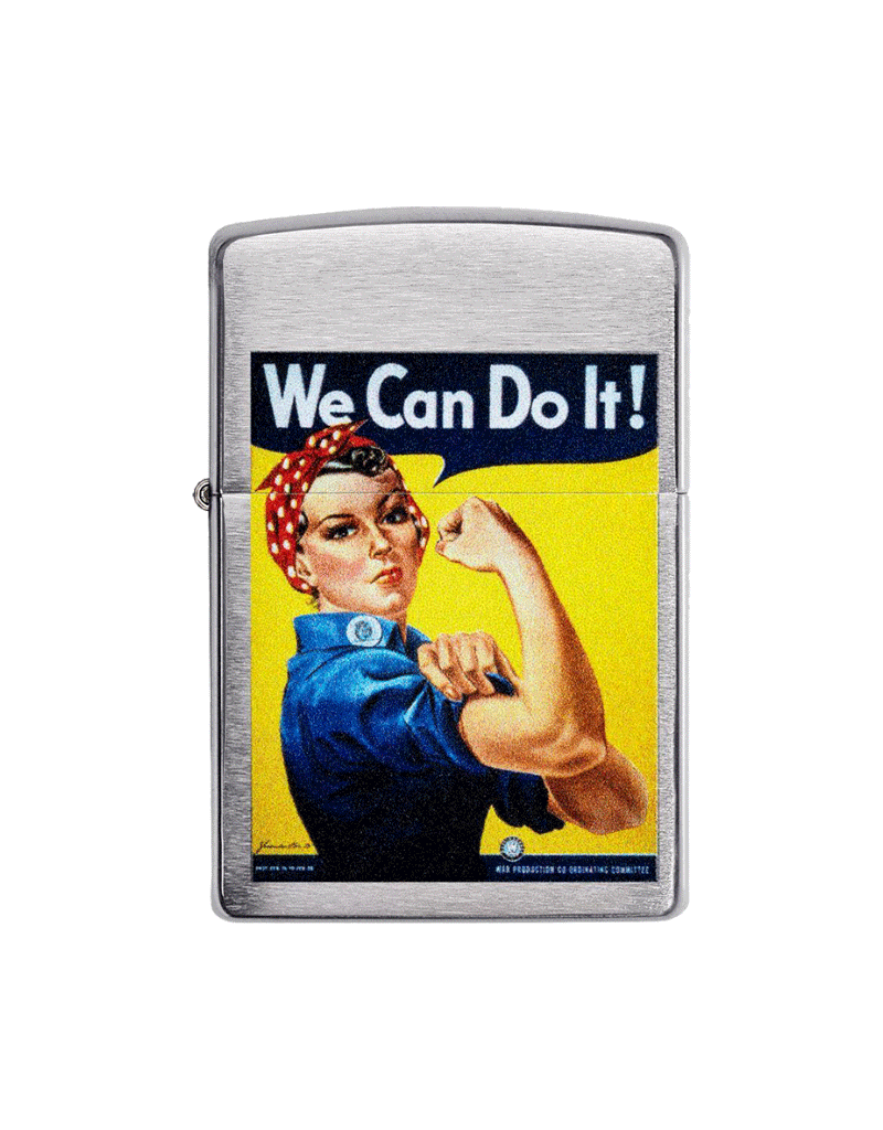 """US Army """"We Can Do It"""" - Zippo Lighter"""