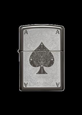 Ace of Spades Filigree - Zippo Lighter