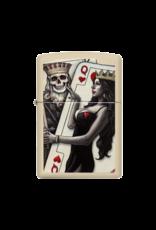 Skull, King, Queen Beauty - Zippo Lighter