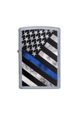 Blue Line - Zippo Lighter