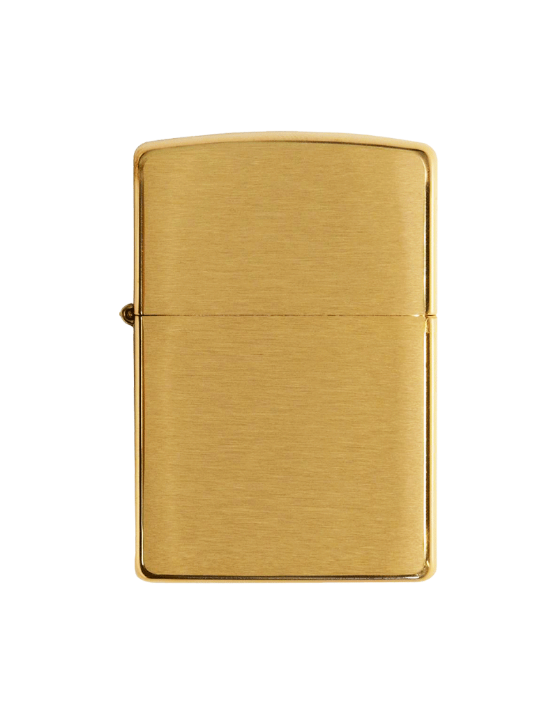 Classic Brushed Brass - Zippo Lighter