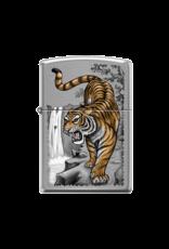 Tiger on Edge - Zippo Lighter