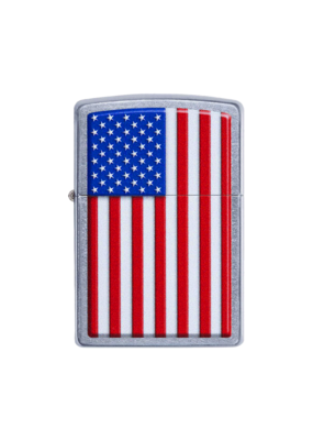 Patriotic American Flag - Zippo Lighter