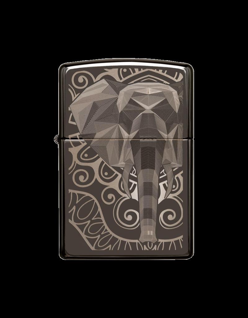 Elephant Fancy Fill - Zippo Lighter