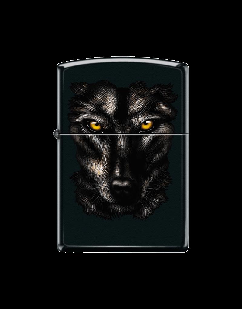Intense Wolf - Zippo Lighter