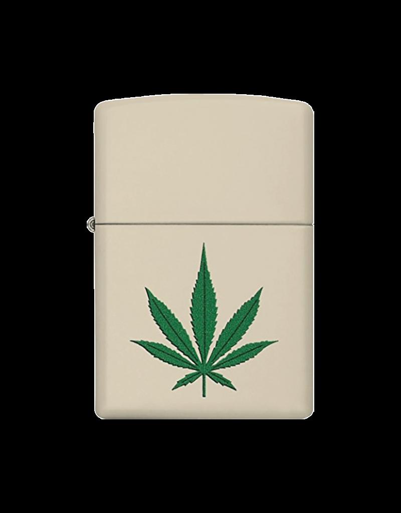 Marijuana Cream Matte - Zippo Lighter