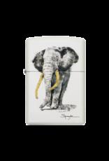 Steven Spazuk - Elephant - Zippo Lighter