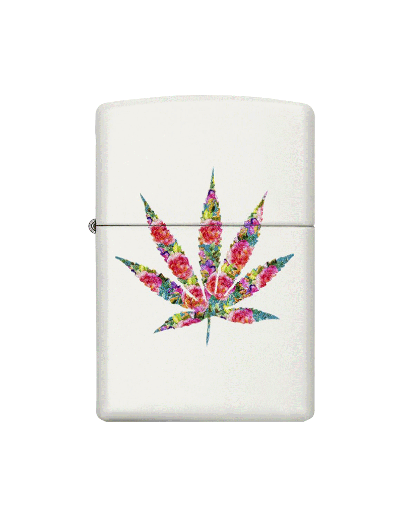 Floral Weed - Zippo Lighter