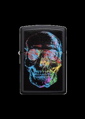 Colorful Skull - Zippo Lighter