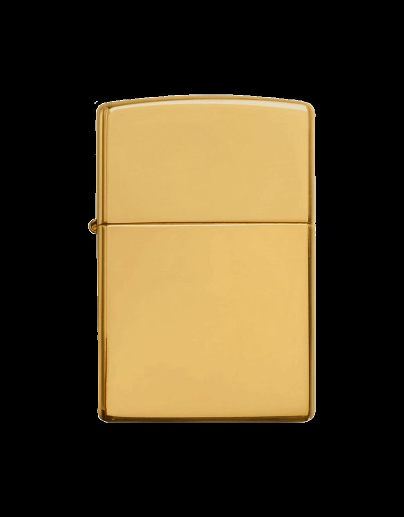 Classic High Polish Brass - Zippo Lighter