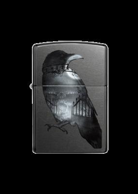 Double Exposed Raven - Zippo Lighter