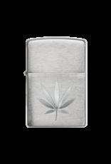 Marijuana Leaf Engraved - Zippo Lighter