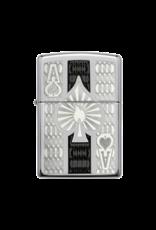 Intricate Ace of Spades - Zippo Lighter