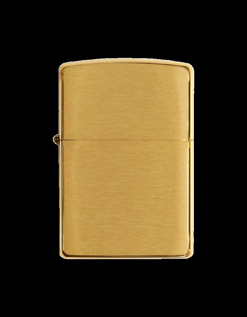 Armor Brushed Brass - Zippo Lighter