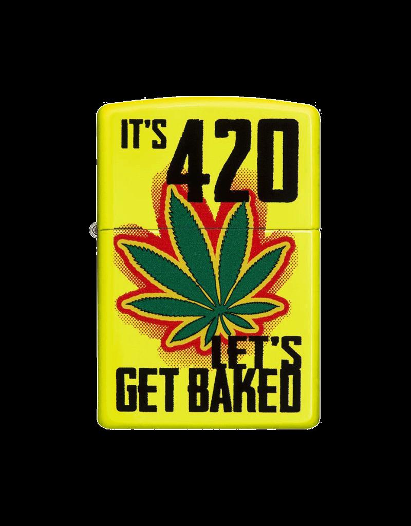 Let's Get Baked - Zippo Lighter