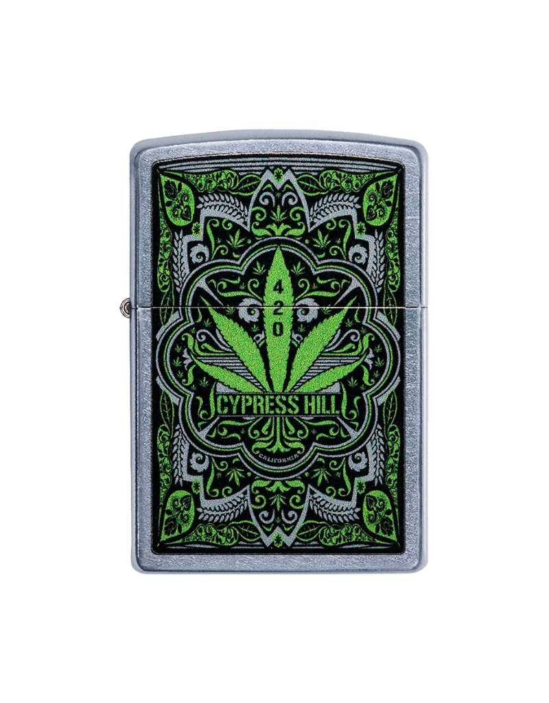 Cypress Hill - Filigree - Zippo Lighter