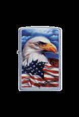Mazzi - Freedom Eagle Flag - Zippo Lighter