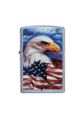 Mazzi - Freedom Eagle Flag - Zippo Lighter