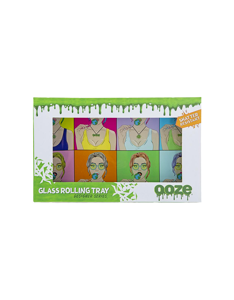 Ooze Candy Shop Shatter Resistant Glass Rolling Tray
