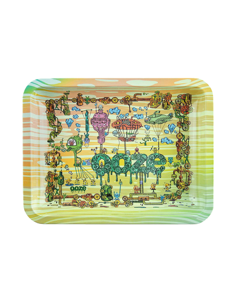 Ooze The Works Metal Rolling Tray