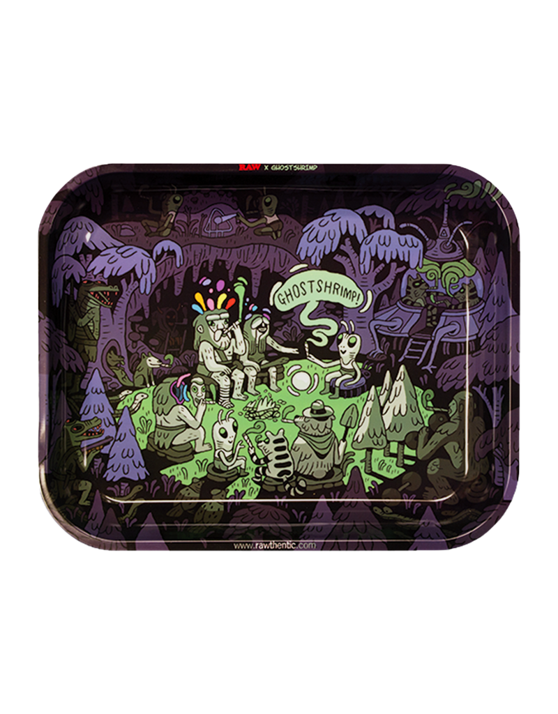 Ghost Shrimp Metal Rolling Tray