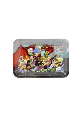 Cartoon Party Metal Rolling Tray