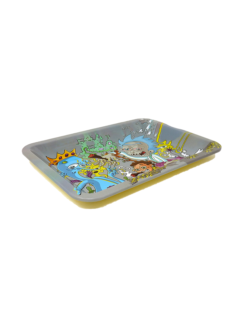 Rick and Morty Party Metal Rolling Tray