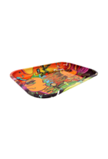 Rick and Morty Trippy Metal Rolling Tray
