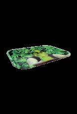 Shrek Leaf Metal Rolling Tray