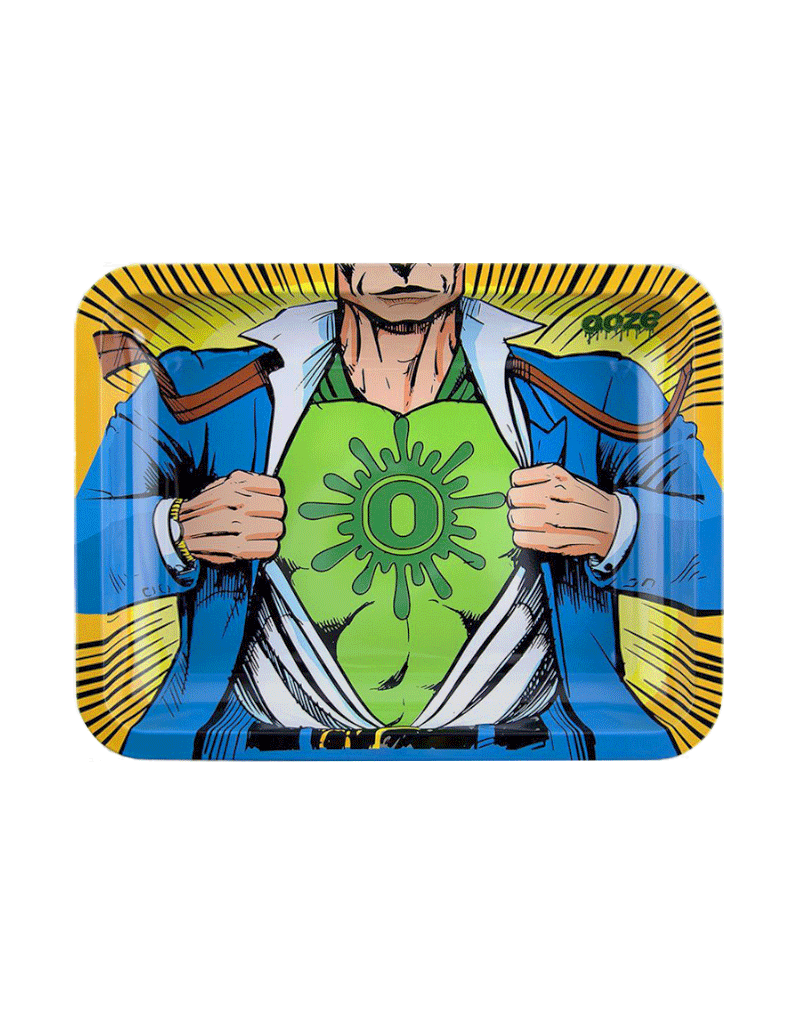 Ooze Captain O Metal Rolling Tray