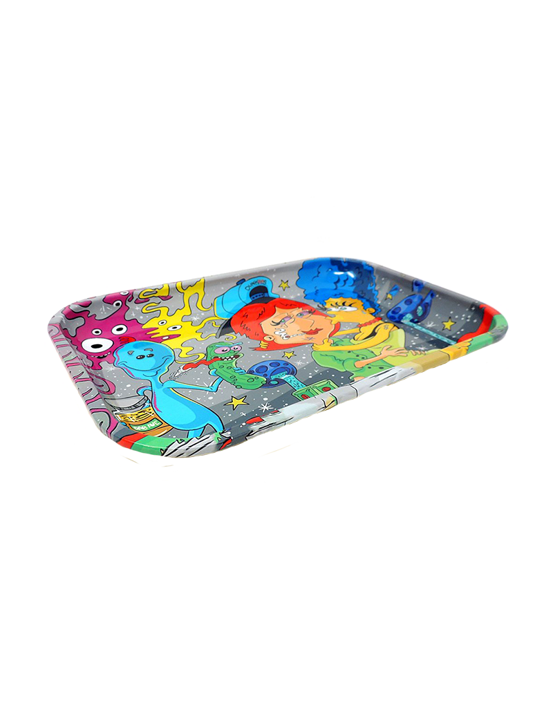 Crossover Make Out Metal Rolling Tray