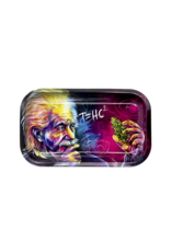 V Syndicate T=HC2 Purple Cosmos Metal Rolling Tray