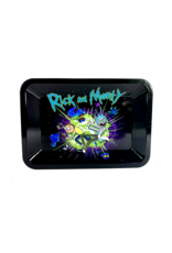 """Rick and Morty """"Fuck You Tentacle Space Dragon"""" Metal Rolling Tray"""