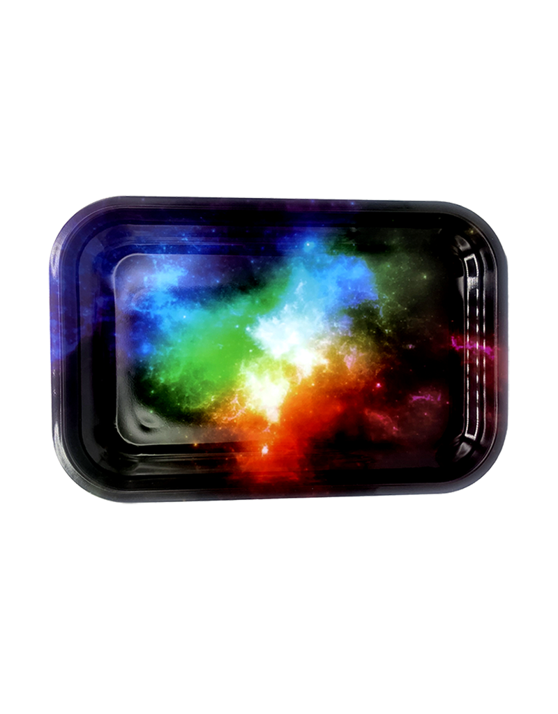 Cosmic Prism Metal Rolling Tray