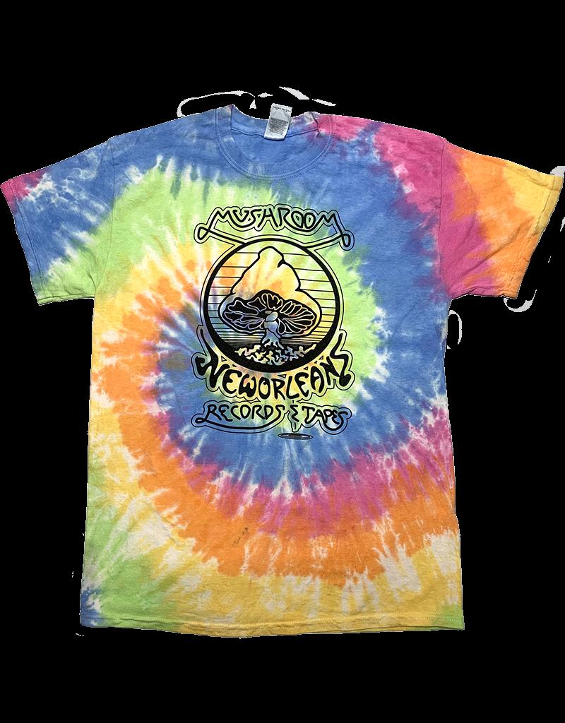 Mushroom Vintage Tie Dye T-Shirt Eternity