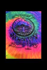 Mushroom Vintage Tie Dye T-Shirt Neon Rainbow