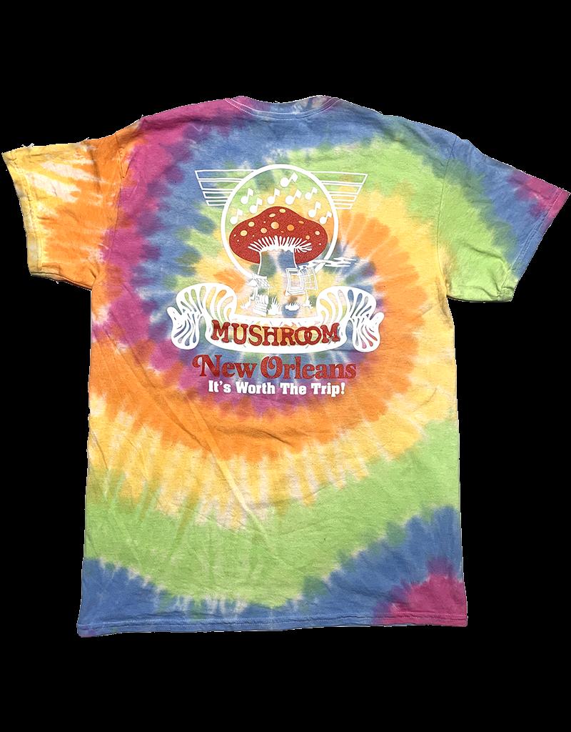 Mushroom Classic Logo Tie Dye T-Shirt Eternity