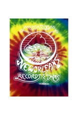 Mushroom Vintage TIe Dye T-Shirt Rainbow