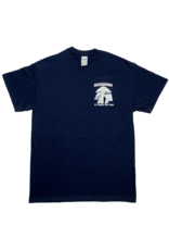 Mushroom Classic Logo Ultra Cotton T-Shirt Navy Blue