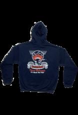 Mushroom Classic Logo Pullover Hoodie Navy Blue