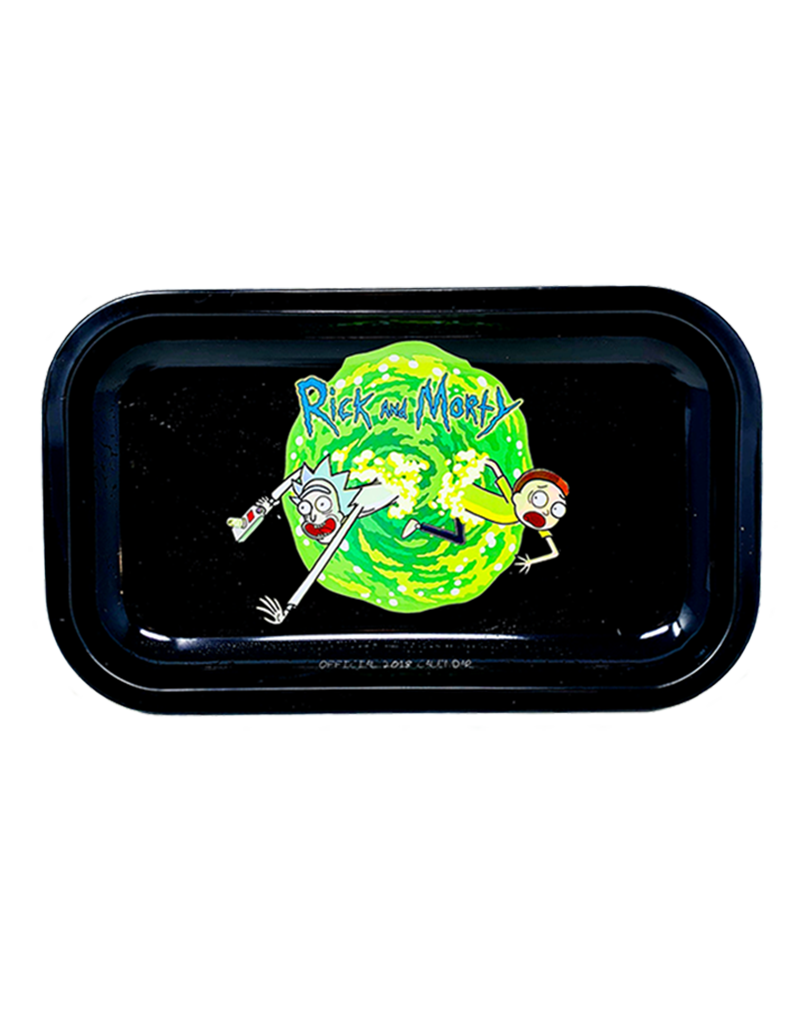 Rick and Morty Portal Escape Metal Rolling Tray