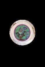 "4"" Diameter Gnome Mushroom Harvest Glass  Ashtray"