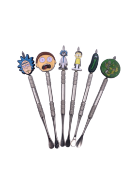 Rick and Morty Stainless Steel Dab Tools