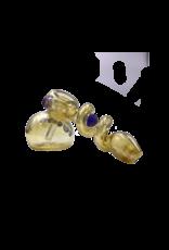 """6"""" Ross Fumed Marble Trap Bubbler"""