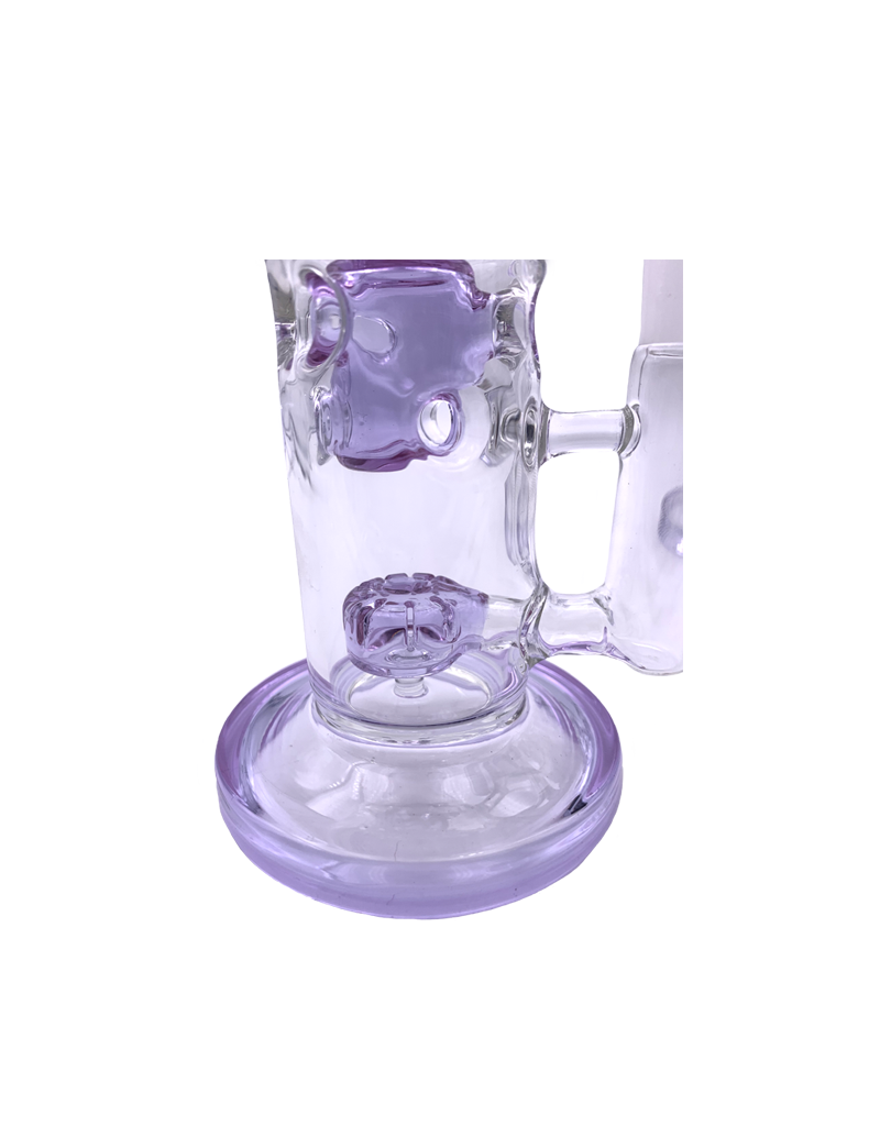 """8"""" Swiss Chamber Water Pipe With Showerhead Perc"""