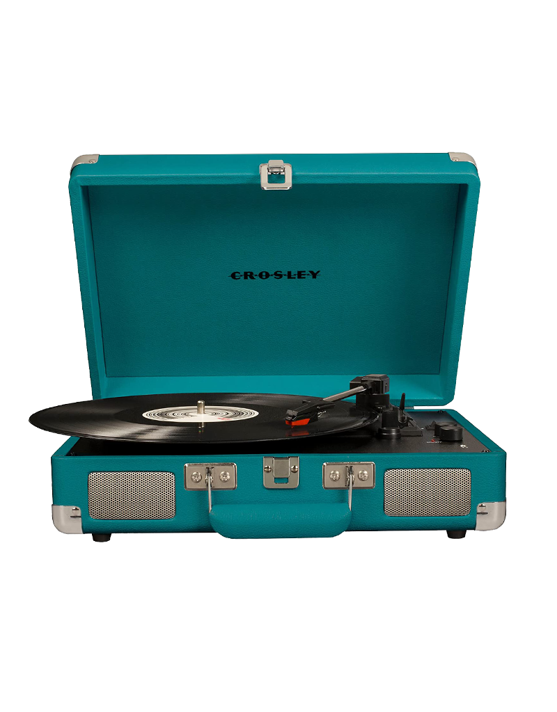 Crosley Cruiser Deluxe Turntable With Bluetooth - Teal