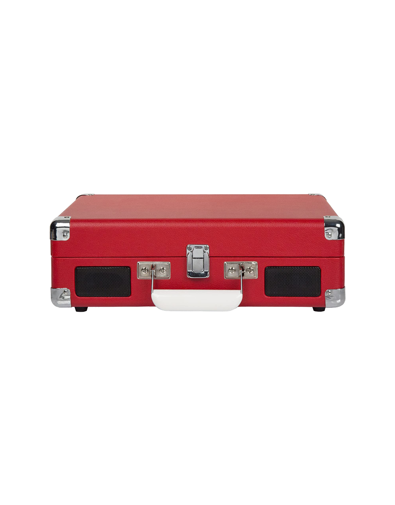 Crosley Cruiser Deluxe Turntable With Bluetooth - Red Vinyl